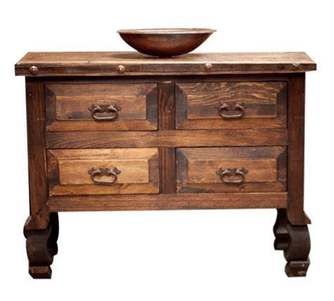 Mexican Bathroom Vanity Small Bathroom Vanity With Yugo Legs 12114 Reclaimed Wood Furniture Rustic Furniture