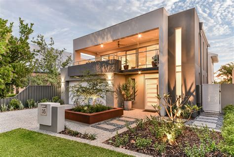 narrow block house designs perth home design and style