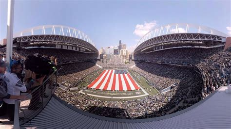 toyota fan deck tickets a 360 look at seahawks pregame from the toyota fan deck at