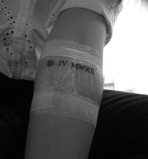 roman numbers tattoo tumblr roman numerals tattoo on tumblr