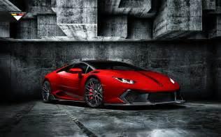 Wallpaper Lamborghini 2016 Rosso Mars Novara Edizione Lamborghini Huracan