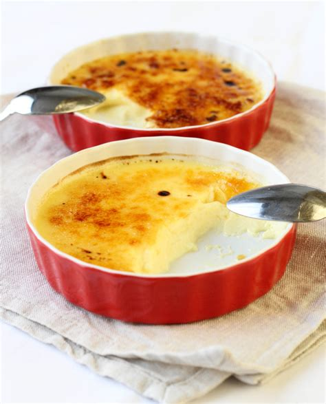 large creme brulee cr 232 me br 251 l 233 e perfect portion for two american