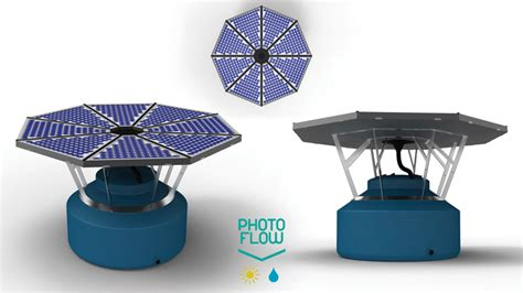 photoflow solar  rainwater collection system  nos