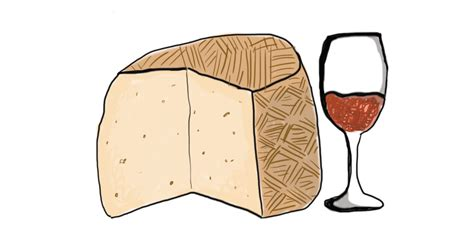 cartoon wine and cheese an illustrated guide to pairing wine and cheese vinepair