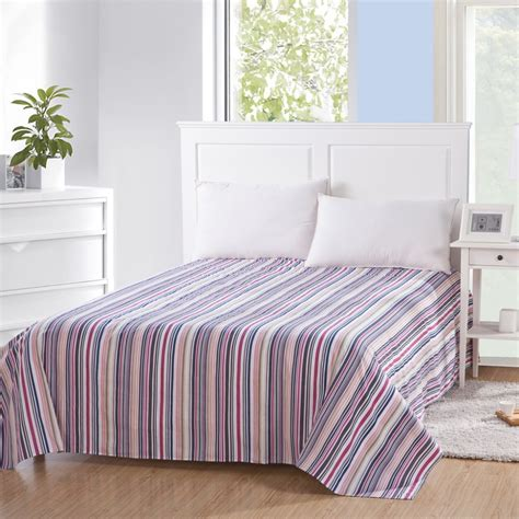 high quality cotton sheets high quality 100 cotton bed sheets child right angle rounded flat sheet single bed