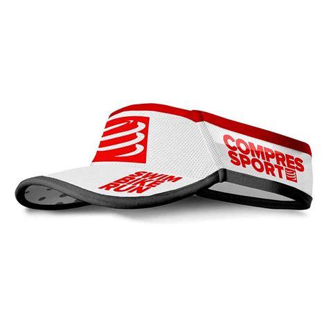 Compressport Running Visor Ultralight Orange compressport visor ultralight tri226 edition buy and