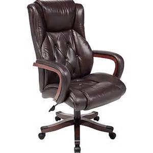 big and desk chairs realspace carlton executive big bonded leather chair