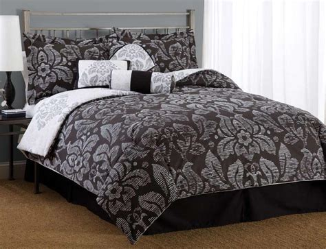 black and white floral bedding is a floral comforter too effeminate for a male space