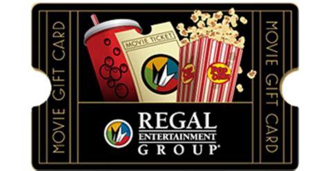 Regal Cinemas Gift Card Kroger - 25 regal cinemas egift card only 20 hip2save