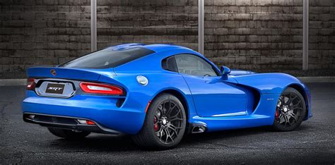 srt viper color contest winner is competition blue autotribute