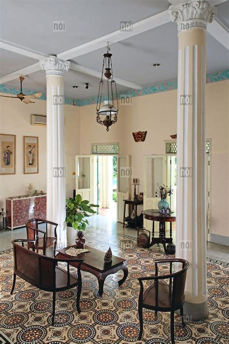 colonial house interior bright and airy interior of an old colonial house ho chi minh city vietnam