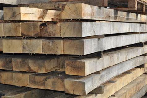 Green Oak Sleepers by Timber Suppliers Green Oak Sleepers
