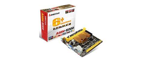 Biostar A68n 5100 Built Up Cpu Amd Apu A4 5100 Garansi biostar fanless mini itx format a68n 5000 kabini