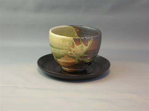Tea Cup 5 by Warm Cup With Snow Fall Tea Cups