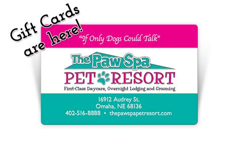 Heartland Gift Card Check Balance - the paw spa pet resort pet boarding