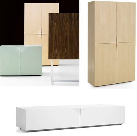 modern cabinet classy curves simple handle free contemporary cabinetry
