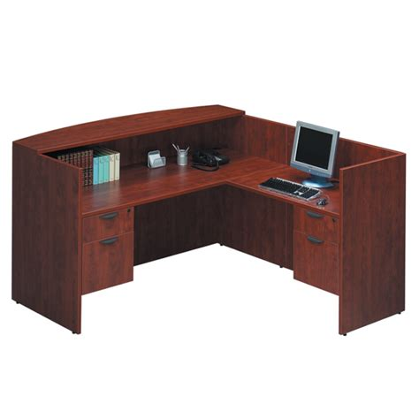 reception l desk office furniture ez