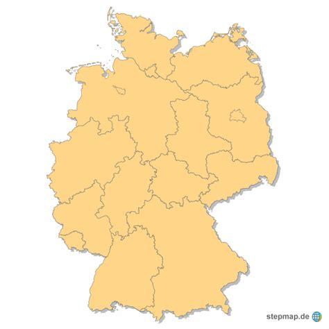 Deutsches Büro Grüne Karte Telefonnummer by Bundesl 228 Nder Deutschlands Einfarbig Fancyhansen