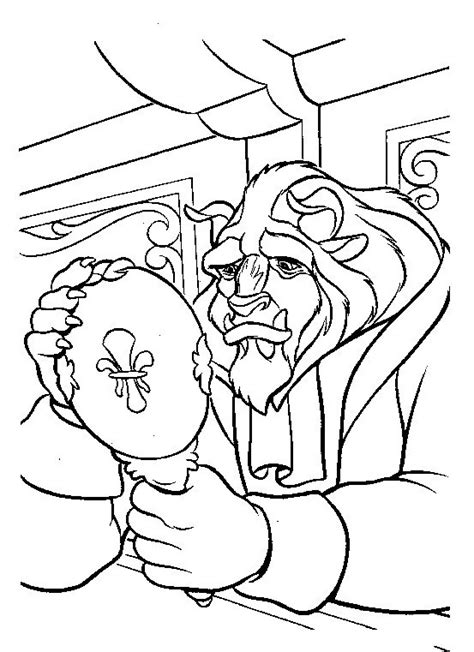 beauty and the beast characters coloring pages siudynet la bella e la bestia da colorare disegni gratis