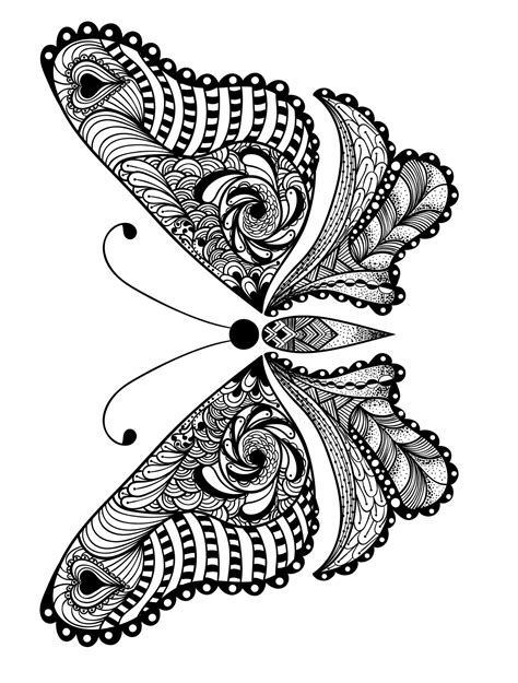 colouring book for adults animals 23 free printable insect animal coloring pages