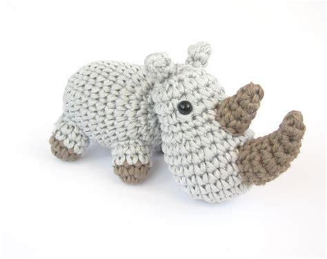 amigurumi rhino pattern new patterns hippo and rhino