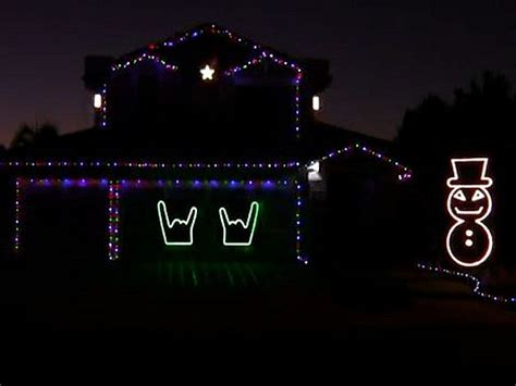 slayer christmas lights rock the block video