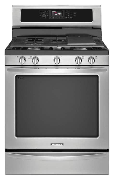 gas range with warmer drawer kitchenaid kgrs306bss 5 8 cu ft freestanding gas