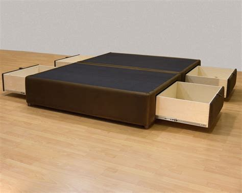 bed box box bed frame with drawers bed frames ideas