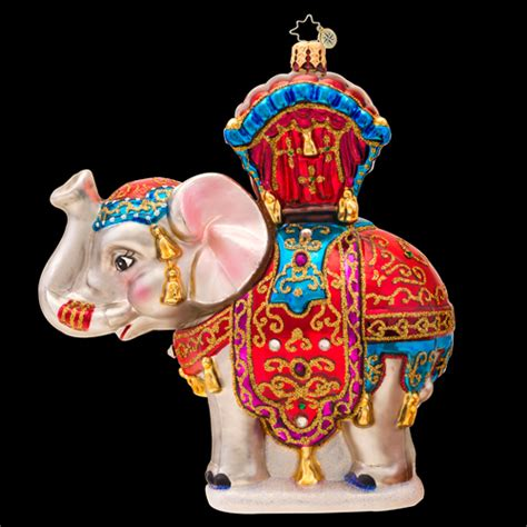 bombay dreams ornament by christopher radko special order