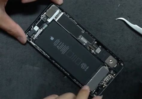 iphone 7 plus teardown is here and it might explain the loss of the headphone bgr