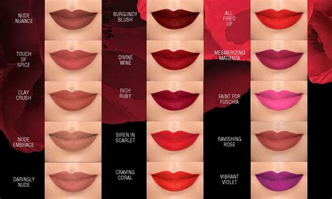 Maybelline Lipstick maybelline color sensational matte lipsticks swatches