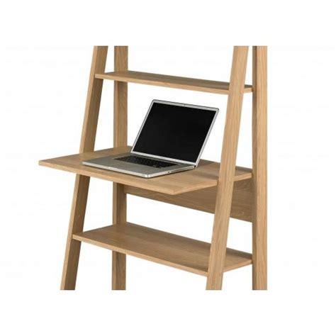 Ladder Office Desk Ladder Style Home Office Desk In White And Oak