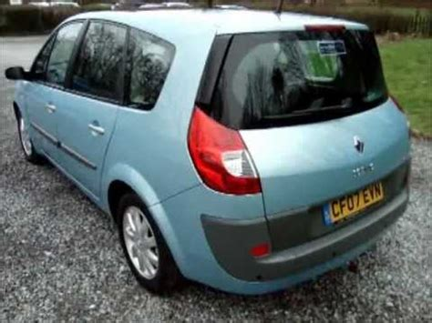 renault grand scenic 2007 2007 renault grand scenic 2 0 dci dynamique youtube