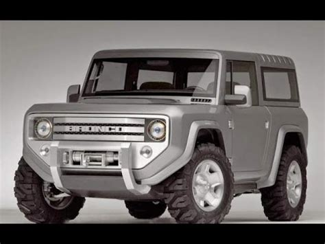 ford bronco 2017 2017 ford bronco price and release date youtube