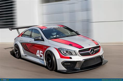 ausmotivecom mercedes cla  amg racing series concept