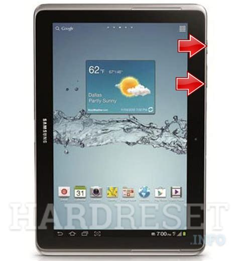 reset samsung tablet to factory settings samsung p5100 galaxy tab 2 10 1 download mode