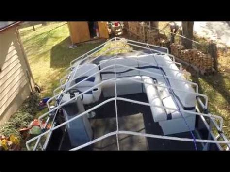 how to make boat seat frames boat cover frame support part 1 youtube
