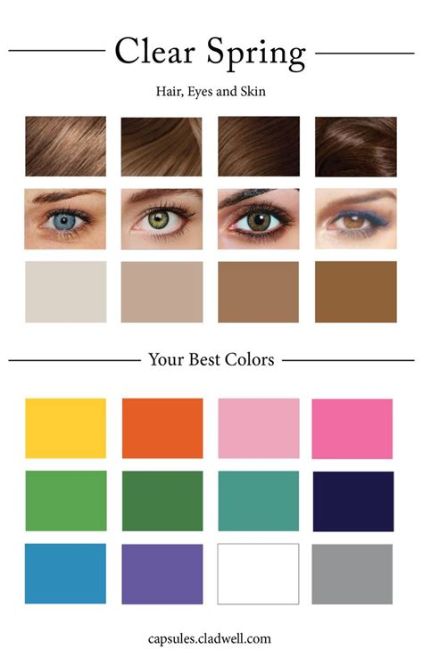 clear winter color palette 302 best color analysis bright images on