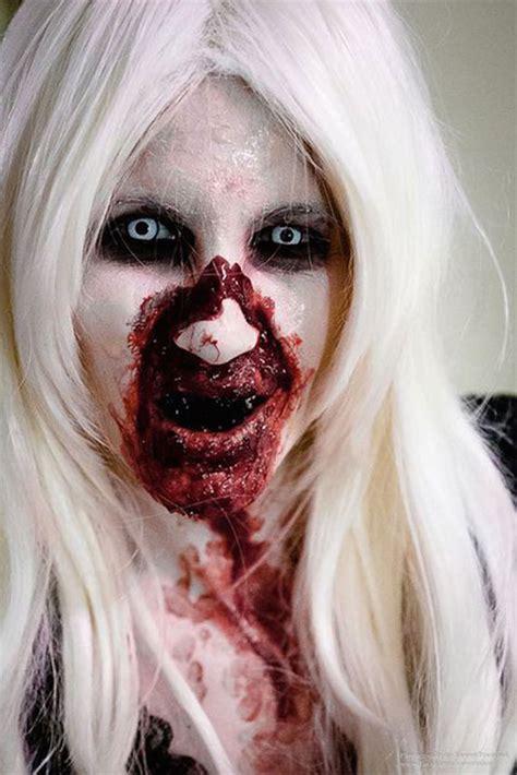 scary halloween makeup    halloween feed