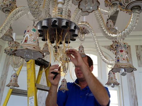 How To Rewire A Chandelier Professional Chandelier Repair Service Ny Nj Expert Lighting