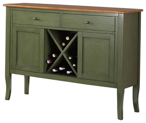 oak sideboards and buffets steve silver candice server in oak and green transitional buffets and sideboards by