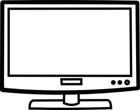 Tv Outline Png by Television Outline Clip At Clker Vector Clip Royalty Free Domain