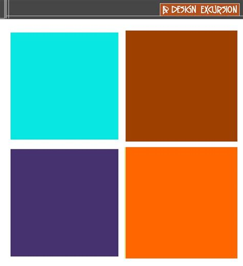 complementary color to orange 17 best images about colours split complementary scheme