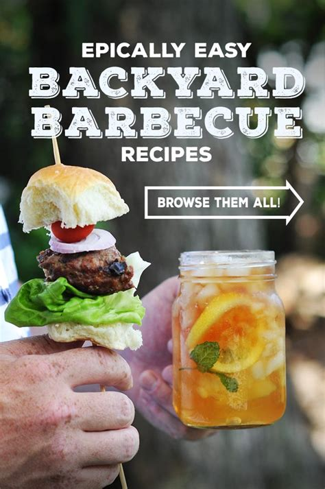 backyard barbecue recipes backyard barbecue recipes scavenger hunt mighty mrs family recipes