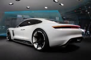 Electric Cars 2018 Cost Porsche Mission E Electric Car To Cost Less Than Panamera