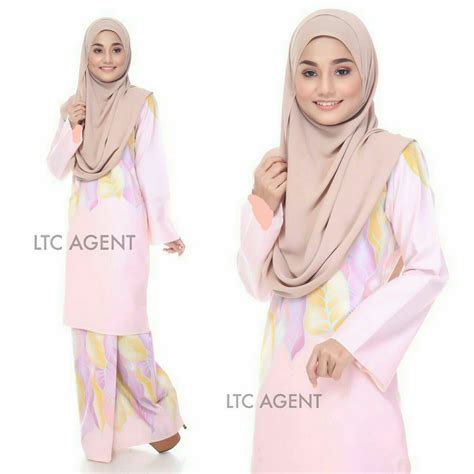 Baju Cotton Soft baju kurung moden anzalna saeeda collections