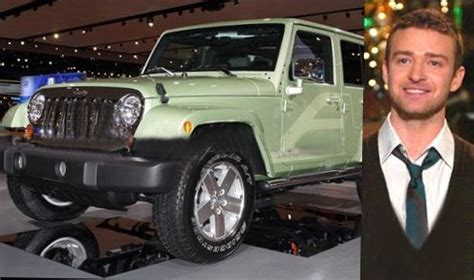 justin timberlake jeep justin timberlake worth salary house car