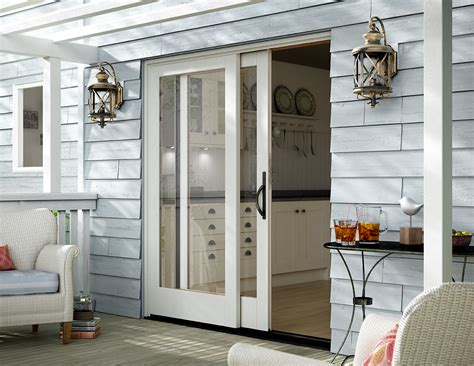 patio door sliding patio doors vinyl sliding aluminum milgard