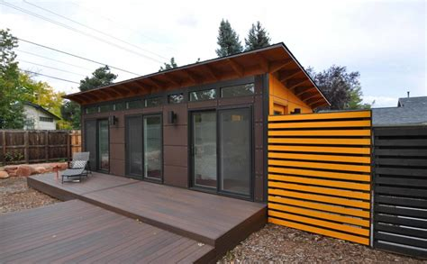 prefab studio with bathroom prefab guest houses modular home additions studio shed