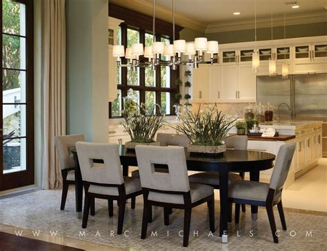 Interior Design Ideas For Dining Room by Dining Room With Chandelier By Marc